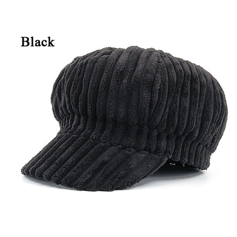 Artist Women Beret Hat For Women Cap Female Cap Casual Dome Bare Chapeu-iuly.com