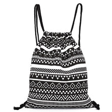Load image into Gallery viewer, Backpack Women National Canvas Backpacks For Teenage Drawstring Bag School-iuly.com