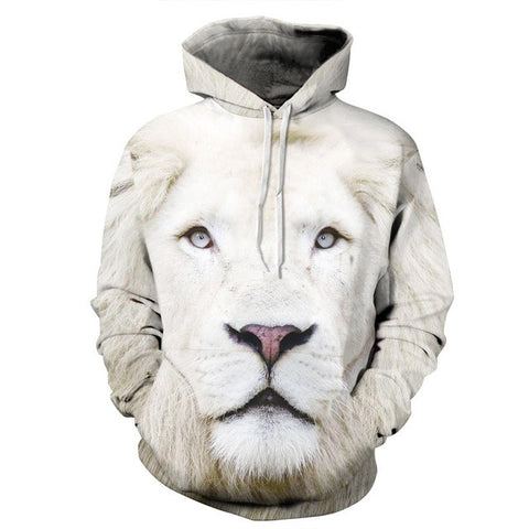 Animals Print Hoodies Men/Women 3D Sweatshirt Hooded Hoodies Cap And Pockets-iuly.com