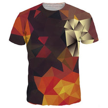 Load image into Gallery viewer, 3D T-Shirt Men/Women Summer Tees Print Color Blocks 3D T Shirt Tshirts-iuly.com