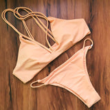 Cikini Women Bikini Set Women Summer Swimsuit Ladies Beach Bathing Suit Swi-iuly.com