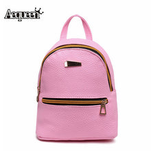 Load image into Gallery viewer, Backpacks Womens Leather Backpack Children Backpacks Mini Women Back Pack-iuly.com