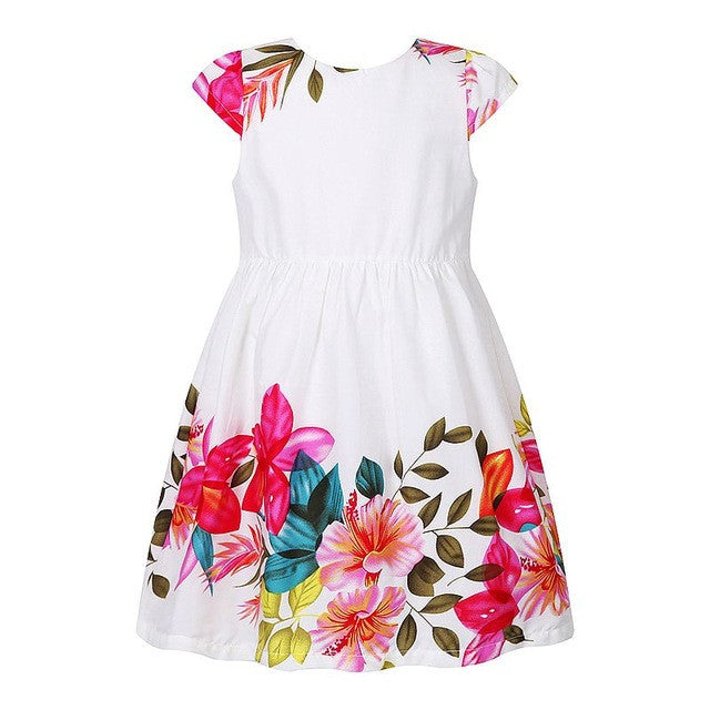 Girls Dresses For Party And Wedding Robe Enfant Baby Girls Summer Clothes-iuly.com
