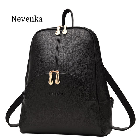 Women Backpack Leather Backpacks Softback Bags Name Bag Preppy Style Bag-iuly.com