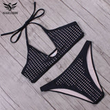 Bikinis Women Swimwear Swimsuit Brazilian Bikini Set Halter Top Bathing Suits-iuly.com