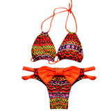 Bikini Set Summer Women Push-Up Bra Bathing Bandage Swimsuit Padded Top Bikini-iuly.com