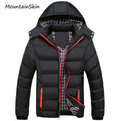 5Xl Men Winter Jacket Warm Male Coats Fashion Thick Thermal Men Parkas Casual-iuly.com