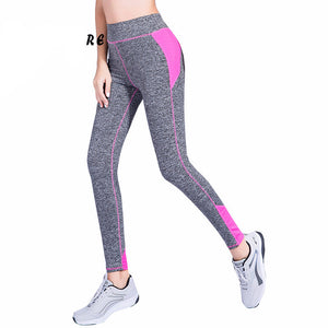 4 Colors S-Xl Women Fashion Leggings Spandex Patchwork Push Up Hip Leggings-iuly.com