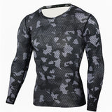 Camouflage Military T Shirt Bodybuilding Tights Fitness Men Quick Dry Camo-iuly.com
