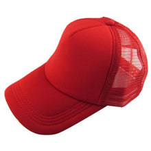 Load image into Gallery viewer, Caps Unisex Casual Hat Solid Baseball Cap Trucker Mesh Blank Visor Hat-iuly.com
