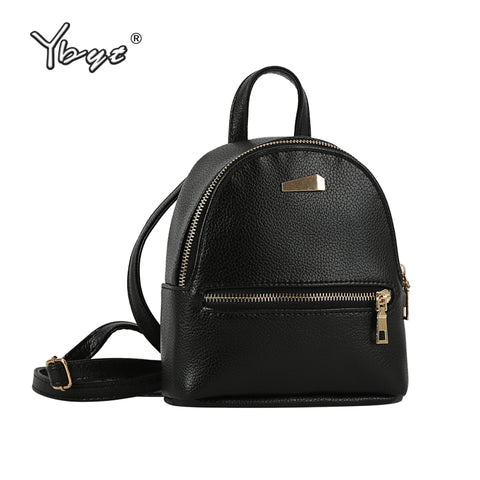 Small Solid Preppy Style Rucksack Women Backpacks Ladies Famous Designer-iuly.com