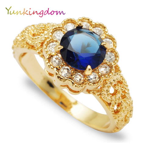 Charms Crystal Rings Women Jewelry Rings Female Anniversary Rings Zirc-iuly.com