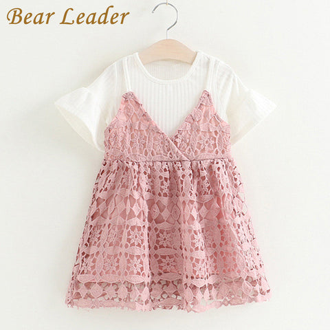 Girls Sets Children Clothing Cute Lace Sets Kids Clothes Pullover White Shirt+-iuly.com