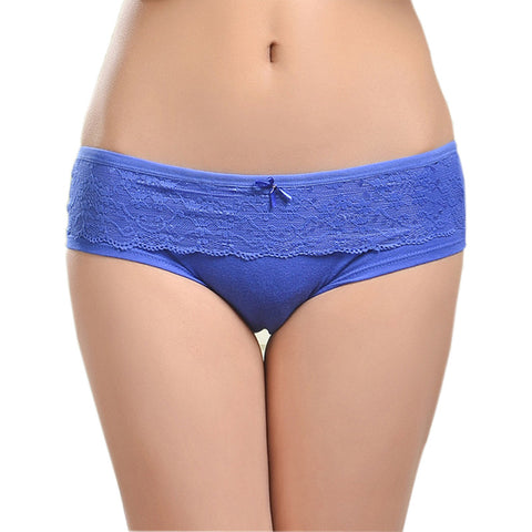 86847 Female Underwear Lace Cotton Women'S Briefs Panties-iuly.com