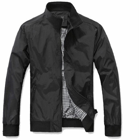 Big Size 4Xl 5Xl Mens Spring Summer Jackets Casual Thin Male Windbreakers College-iuly.com