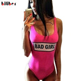 Bad Girl Swimsuits One Piece Red One Piece Swim Suits Cut One Piece Ba-iuly.com