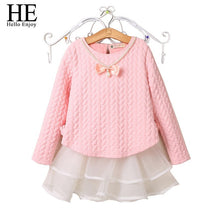 Load image into Gallery viewer, Enjoy Girls Clothes Dresses Spring/Winter Children Girls Long Sleeve Next Kids-iuly.com