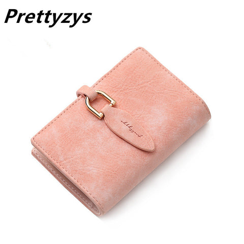 20 Bits Women Credit Card Holder Pu Leather Leaves Hasp Bank Card Bag Mini-iuly.com