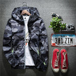 Casual Thin Hooded 3M Reflective Summer Camouflage Jacket Men Xxl-iuly.com