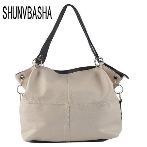 Women Handbag Special Offer Pu Leather Bags Women Messenger Bag/ Splice-iuly.com