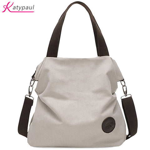 Casual Beach Woman Canvas Bags Women Shoulder Bag Female Handbags Crossbody-iuly.com