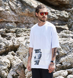 Casual Street Men'S T Shirts Short Sleeve Printing T Shirt Men Loose Man T-Shirt-iuly.com