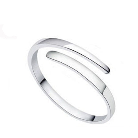 Alice Silver 925 Sterling Silver Ring Lovely Female Models Ring Opening-iuly.com