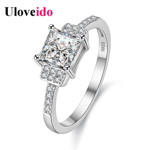 Wedding Rings Women Vintage Jewelry Ring Female Feminino Femme Silver *-iuly.com