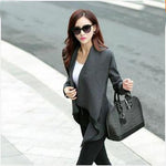 Autumn Spring Long Colored Trench Coat Women Cashmere Overcoat Full Si-iuly.com