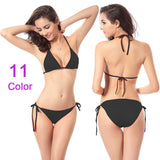 Bikinis Set Women Swimwear Swimsuit Split Girl Bathing Suit Multi Colo-iuly.com