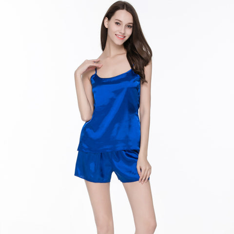 Summer Women Pijamas Nightwear Pajamas Set Sleep Wear Nightwear Set Sh-iuly.com