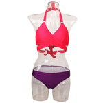 Criss Cross Bikini Brazilian Bandage Swimsuit Women Push Up Swimwear B-iuly.com