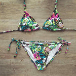 Embroidered Plus Size Bikinis Women Swimwear Bandage Biquini Brazilian-iuly.com