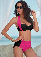 Load image into Gallery viewer, Bikinis Women Swimsuit Waisted Bathing Suits Swim Halter Top Push Up B-iuly.com
