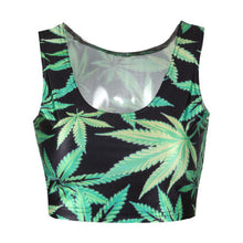 Load image into Gallery viewer, Bat Mysterious Summer Women Crop Tops Tank Tops Vintage Tops-iuly.com