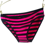86861 Cotton Women Striped Panties-iuly.com