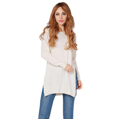 Lady Knitwear Women Casual Sweater Autumn Winter Knitted Plus Size Spl-iuly.com