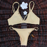 Solid Vintage Bikini Retro Sex Swimsuit Thong Swimwear Women Bathing S-iuly.com