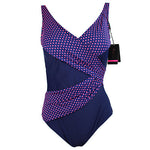Andzhelika One Piece Swimsuit Women Vintage Bathing Suits Plus Size Sw-iuly.com