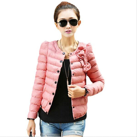 4 Colors Women Coat Winter Overcoat Women'S Winter Jackets Slim O-Neck-iuly.com