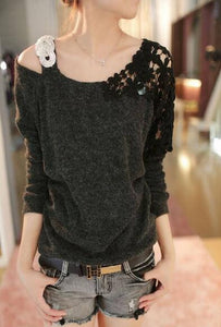 And Casual Autumn Winter Elegant Women Clothing Long Sleeve Pullover S-iuly.com