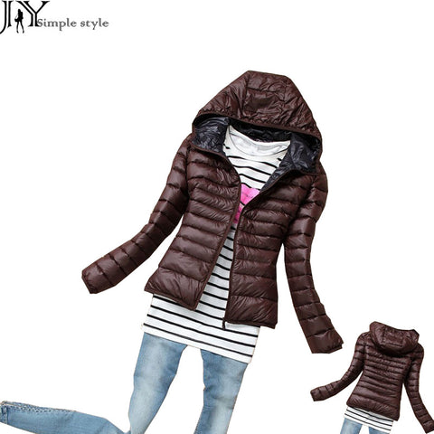 Jy. Parkas Winter Female Down Jacket Women Clothing Winter Coat Color-iuly.com