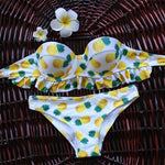 Bikini Brazilian Push Up Bikinis Retro Bandage Halter Swimsuits Swimwe-iuly.com