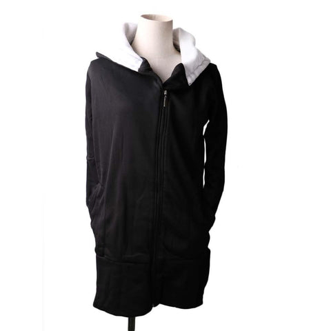 Coat Korea Style Womens Hoodie Jacket Coat Warm Outerwear Hooded Zip-iuly.com