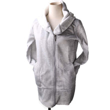 Load image into Gallery viewer, Coat Korea Style Womens Hoodie Jacket Coat Warm Outerwear Hooded Zip-iuly.com