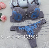 Juliet'S Intimate Thongs Bra Set Lace Embroidery Elegant Young Women P-iuly.com