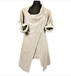 Cardigans Listing Autumn Winter Women'S Casual Jacket Solid Color Irre-iuly.com