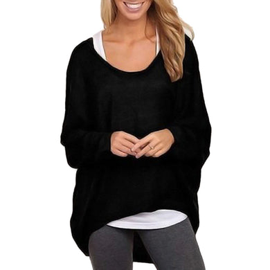 Winter Women Long Sleeve Sweater And Pullovers Oversized Baggy Loose-iuly.com