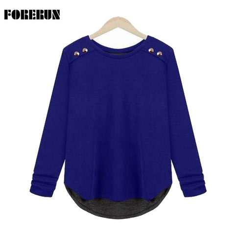 4Xl Casual Sweater Women Spring Thin Pullover Plus Size Loose Long Sle-iuly.com