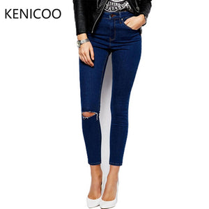 Jeans For Women Waist Jeans Women Slim Skinny Pants Trousers Fit Lady-iuly.com